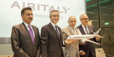 La compagnia aerea Meridiana cambia nome: si chiamerà Air Italy