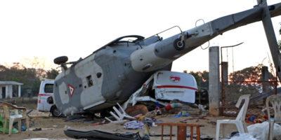 In Messico 14 persone sono morte nell'incidente di un elicottero militare che trasportava il ministro dell'Interno