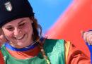 Michela Moioli ha vinto la medaglia d'oro nello snowboard cross alle Olimpiadi invernali