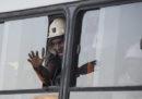 955 minatori che erano rimasti bloccati per 24 ore in una miniera d'oro in Sudafrica sono stati liberati