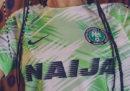 Le nuove divise Nike della Nigeria per i Mondiali di calcio in Russia