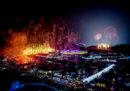 Sono iniziate le Olimpiadi invernali 2018