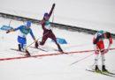Federico Pellegrino ha vinto la medaglia d'argento nello sprint a tecnica classica dello sci di fondo