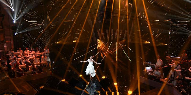 Sanremo 2018, Michelle Hunziker e il balletto