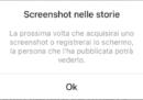 Arrivano le notifiche per gli screenshot delle storie su Instagram