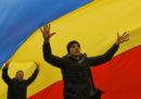 Quelli che in Moldavia vogliono unirsi con la Romania