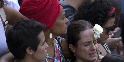 Le foto delle manifestazioni per Marielle Franco, uccisa a Rio de Janeiro