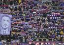 Le foto della prima partita della Fiorentina dopo la morte di Astori