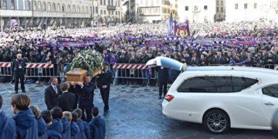 Le foto dei funerali di Davide Astori, capitano della Fiorentina
