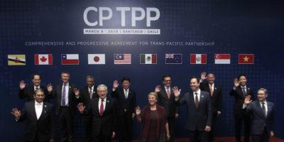 11 paesi dell'Asia e del Pacifico hanno firmato un accordo commerciale