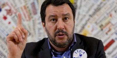 Salvini dice che per il governo «escluso il PD, tutto è possibile»