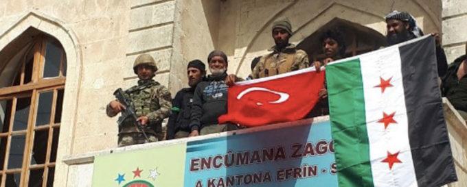 L'esercito turco è entrato ad Afrin