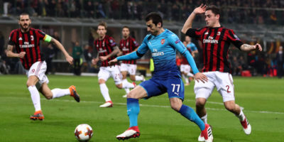 Arsenal-Milan di Europa League in diretta TV e in streaming