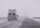 L'autostrada A1 è stata chiusa da Milano a Bologna per la pioggia gelata