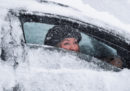 Foto del freddo e della neve in tutta Europa
