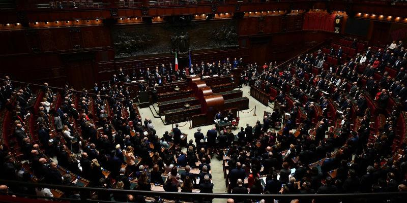 Il voto di fiducia sul governo conte alla camera in for Camera dei deputati diretta streaming