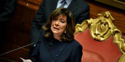 Maria Elisabetta Alberti Casellati, la prima donna presidente del Senato