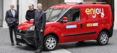 Ora si possono anche noleggiare i furgoni con Enjoy
