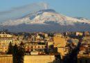 L'Etna si sta spostando un po' verso il mare