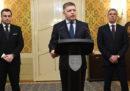 Il primo ministro slovacco si è dimesso