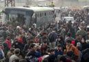 Migliaia di civili hanno lasciato Ghouta orientale, l'enclave vicino a Damasco ancora controllata dai ribelli