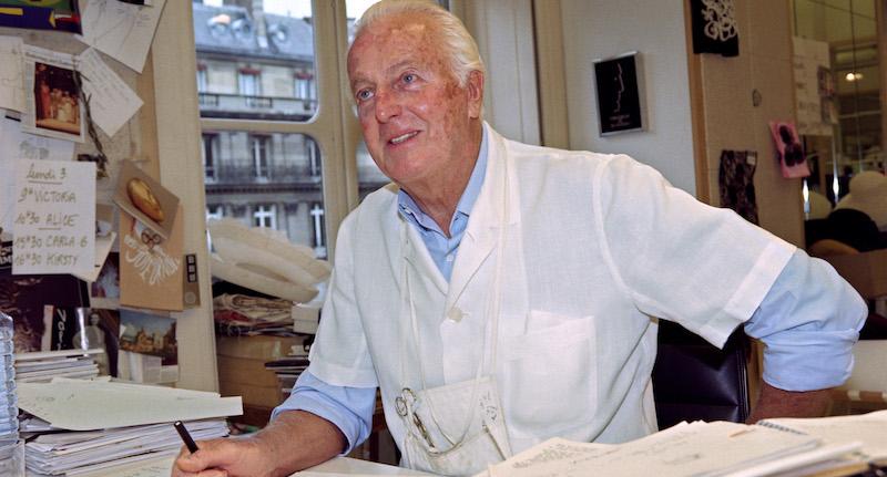 È morto lo stilista francese Hubert de Givenchy
