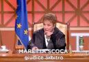 """È morta a 79 anni Maretta Scoca, famosa per essere stata una delle giudici della trasmissione """"Forum"""""""