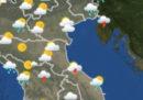 Le previsioni del tempo per domani, martedì 13 marzo