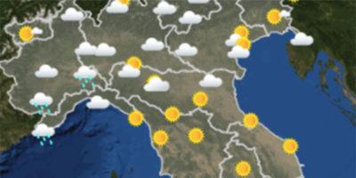 Il meteo in Italia per sabato 24 marzo