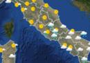 Il meteo in Italia per lunedì 26 marzo