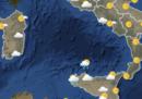 Il meteo in Italia per mercoledì 28 marzo
