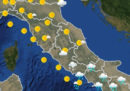 Le previsioni meteo per Pasqua, domenica 1 aprile