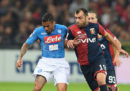 Napoli-Genoa in streaming e in diretta TV