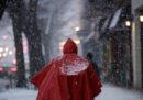 C'è un po' di neve a New York