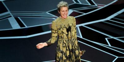 I vincitori degli Oscar 2018, in ordine