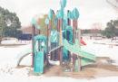 Parchi giochi giapponesi vuoti e senza tempo