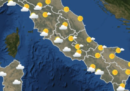 Il meteo in Italia per giovedì 8 marzo
