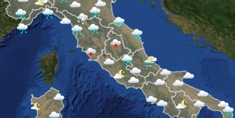 Il meteo di domani domenica 18 marzo il post - Meteo bagno di romagna domani ...