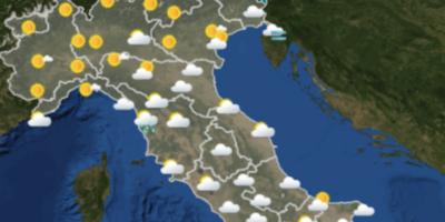 Le previsioni meteo per venerdì 16 marzo