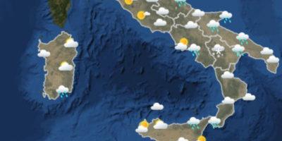 Il meteo in Italia per venerdì 23 marzo