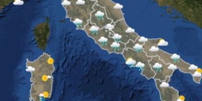 Il meteo in Italia per martedì 20 marzo