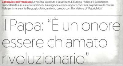 Il Vaticano: Eugenio Scalfari si è inventato l'intervista con il Papa