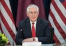 Trump ha licenziato il segretario di Stato Rex Tillerson