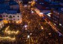 Le proteste in Slovacchia per chiedere nuove elezioni