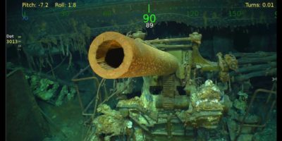 Paul Allen ha trovato un'altra nave da guerra affondata