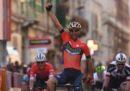 Vincenzo Nibali ha vinto la 109ª edizione della Milano-Sanremo