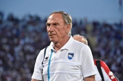 Il Pescara ha esonerato l'allenatore Zdenek Zeman