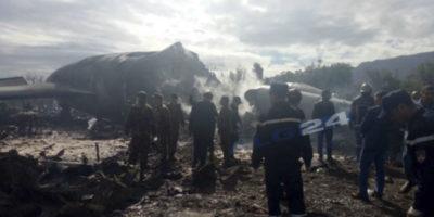 L'incidente aereo in Algeria