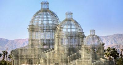 Le grandi cupole di Edoardo Tresoldi al Coachella