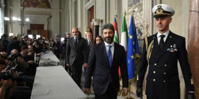 Roberto Fico è stato convocato al Quirinale
